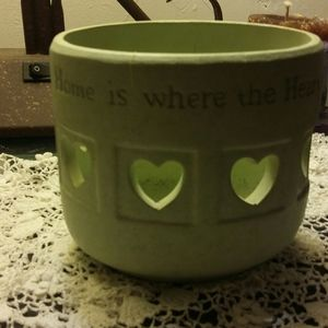 Home sweet home Candle holder or vase